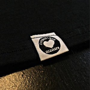 Spread Love Classic True Fit Tee (Vintage Black & Gold)