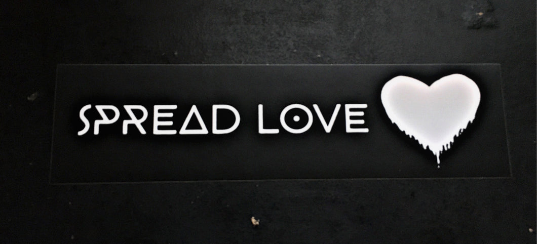 Spread Love Bumper Sticker