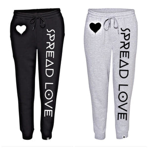 Spread Love Fleece Jogger Sweatpants