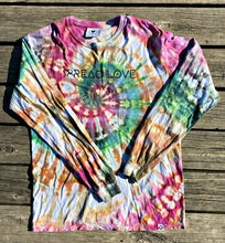 Spread Love Tie-Dye Long Sleeve Tee