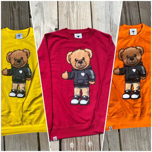 Spread Love Bear Crew Neck Sweatshirt