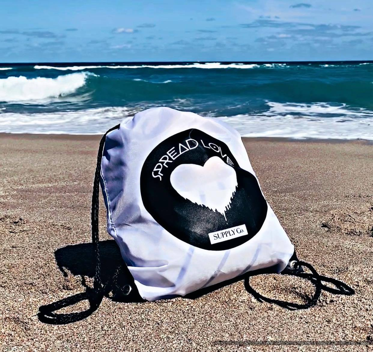 Spread Love Beach Bag