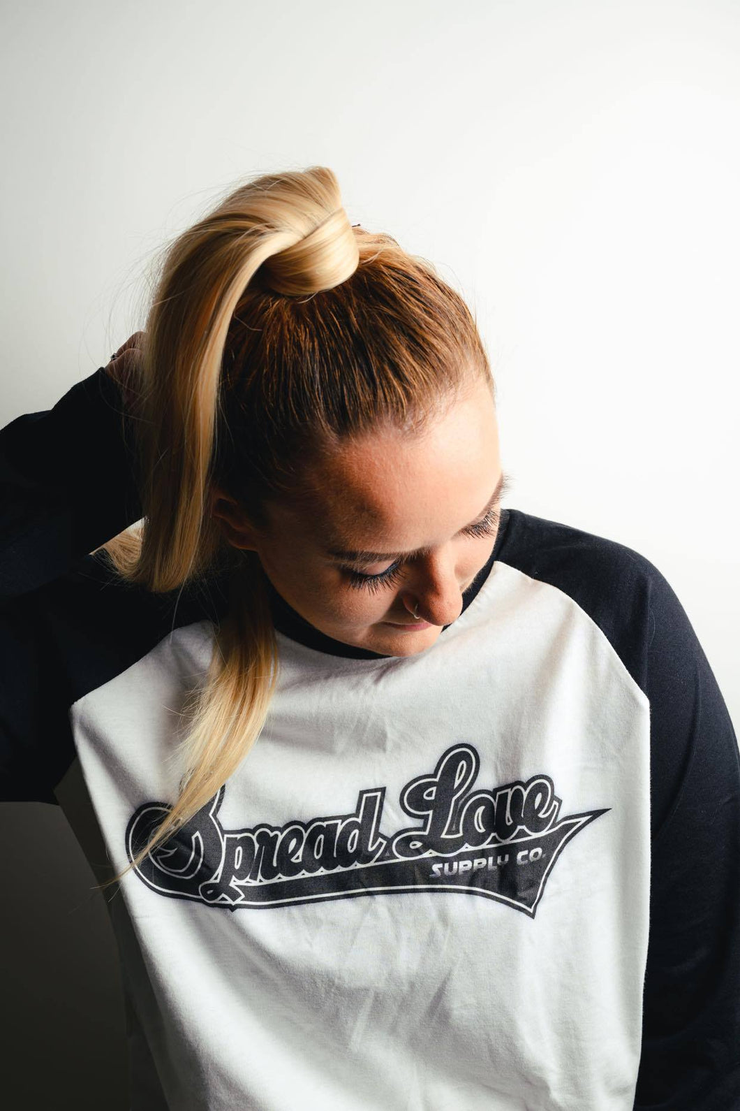 Team Spread Love Baseball Tee