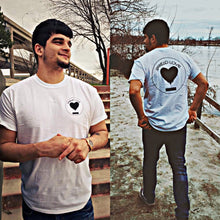 Spread Love Classic Graphic Tee (White)