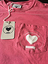 Spread Love Long Sleeve Pocket Tee Original (Crunchberry)