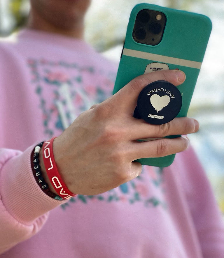 Spread Love Pop Socket