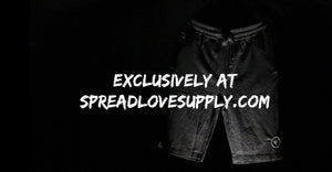 Spread Love Jogger Shorts
