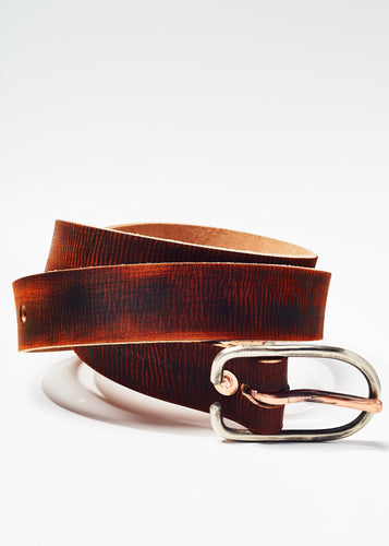 Distressed Brown Belt