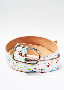 Paint Splatter Belt