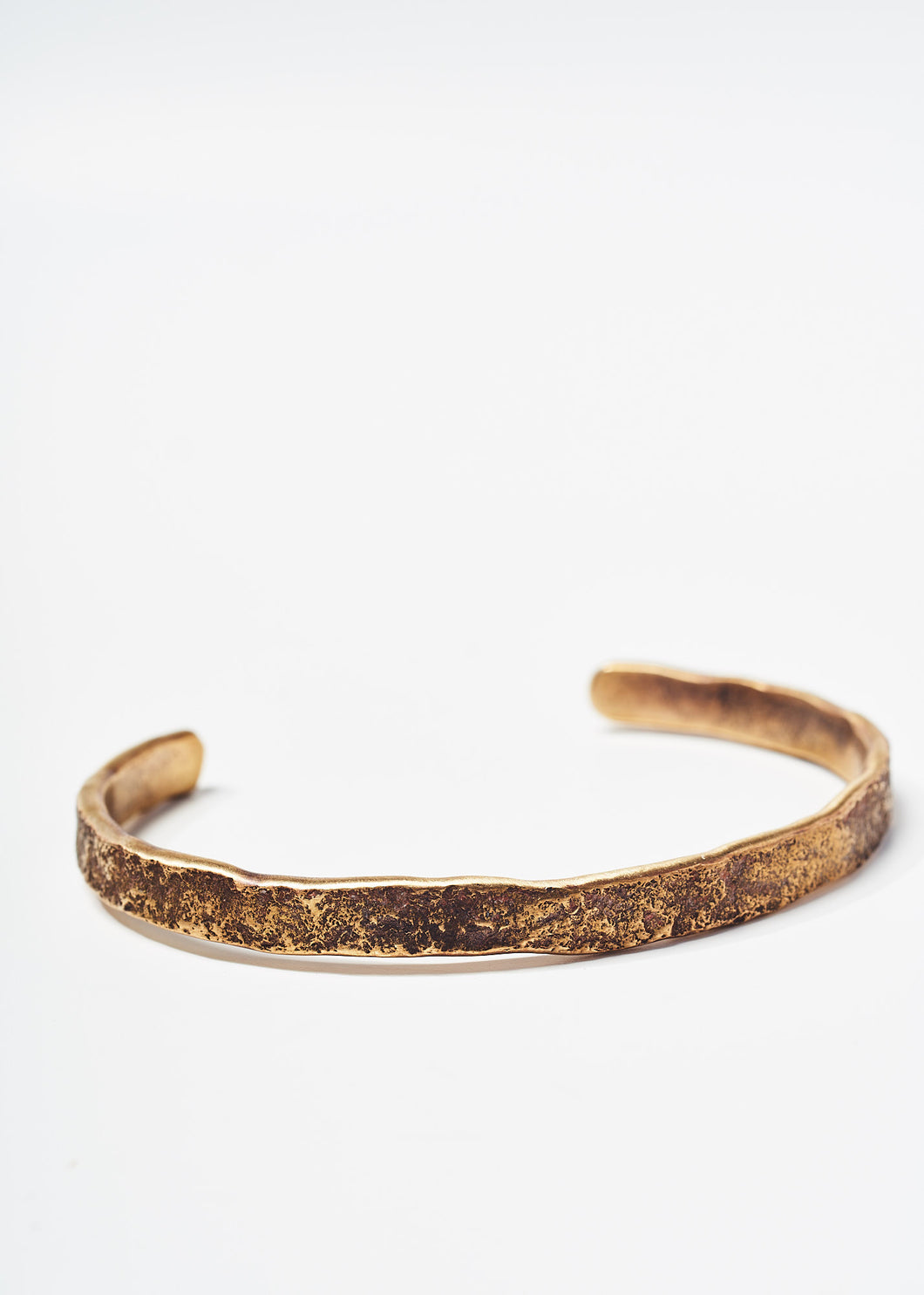 Oxidized Brass Cuff