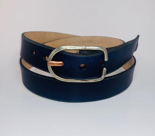 Bright Navy Belt