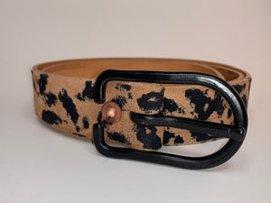 Leaopard or Cheetah Oh hell animal Print belt