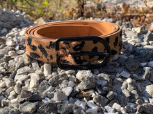 Load image into Gallery viewer, Leaopard or Cheetah Oh hell animal Print belt
