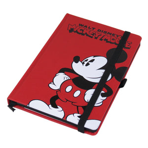 Mickey Mouse Pose A5 Premium Hardback Notebook
