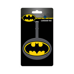 Batman Logo PVC Luggage Tag