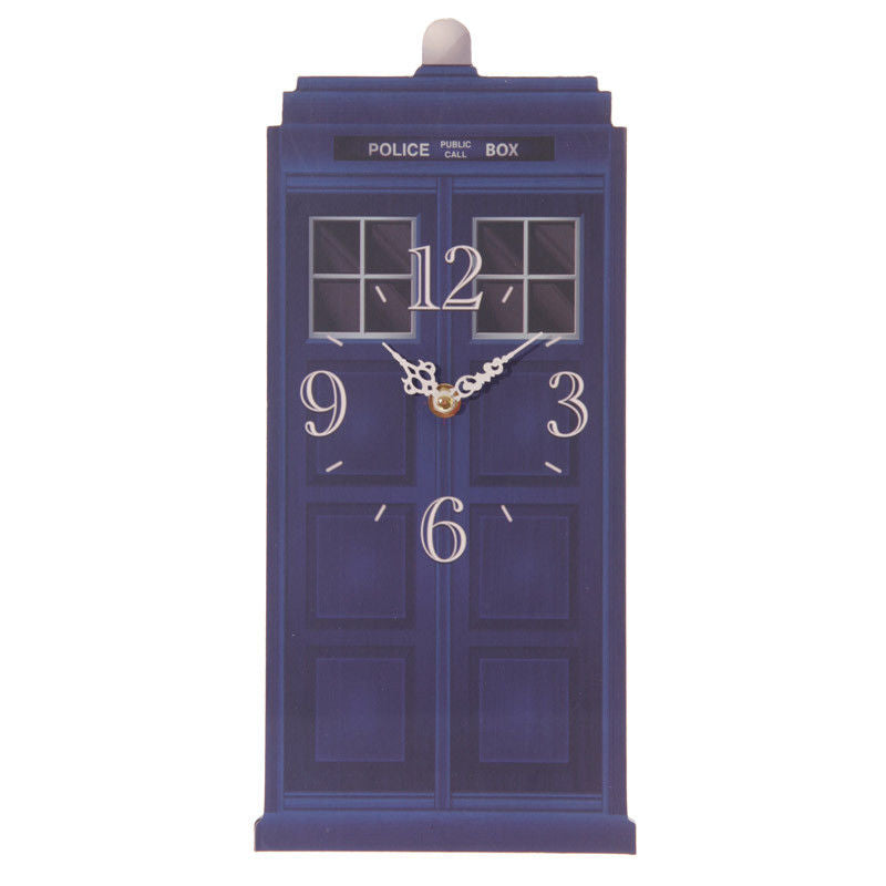 Police Box Wall Clock