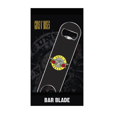 Guns N Roses Logo Bar Blade Bottle Opener