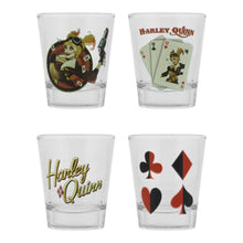 Load image into Gallery viewer, Harley Quinn Bombshell Set of 4 Shot Glasses