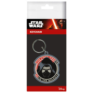 Star Wars Kylo Ren Rule The Galaxy Rubber Keyring