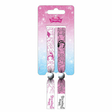 Disney Princesses Pack of 2 Festival Wrist Bands