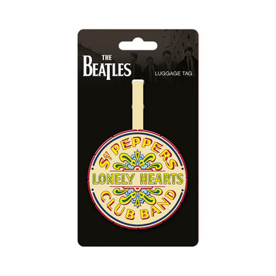 The Beatle Sgt Pepper Drum PVC Luggage Tag