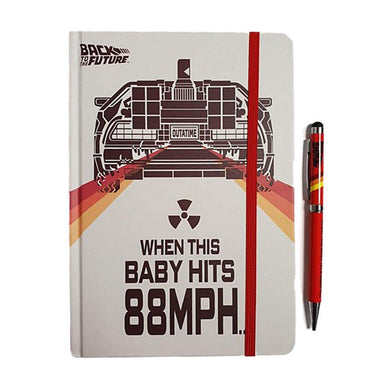 Back To The Future A5 Notebook & Pen Set
