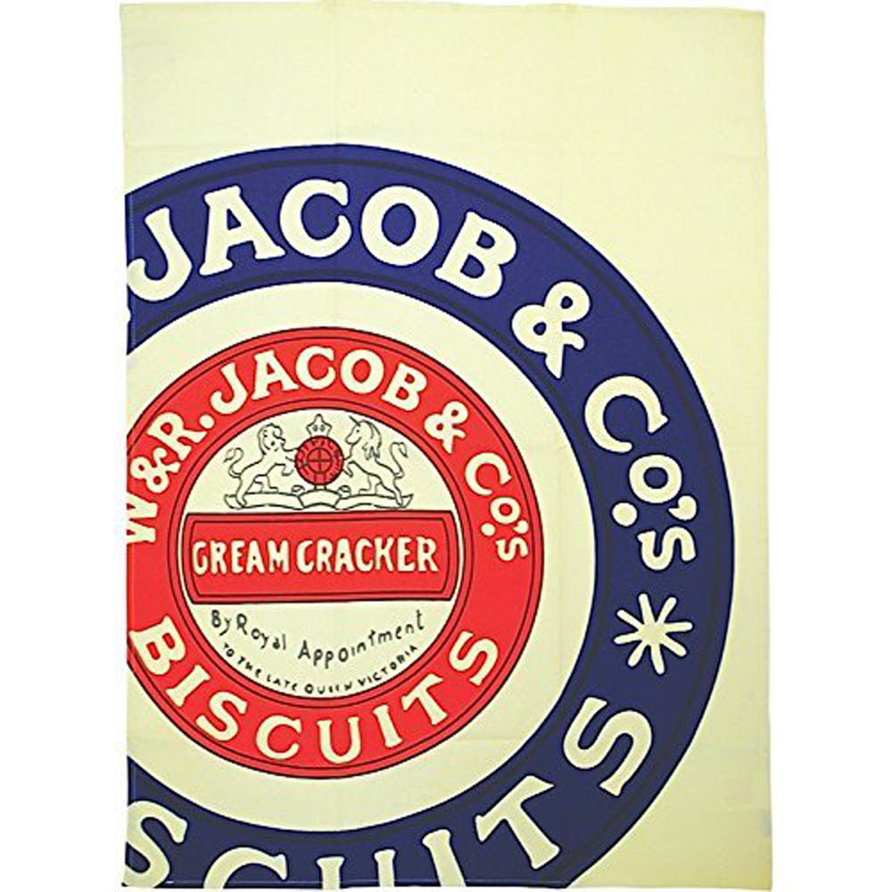 Jacob & Co's Cream Crackers Tea Towel