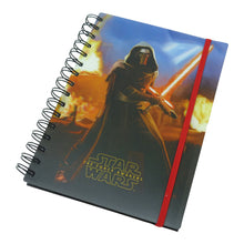 Load image into Gallery viewer, Star Wars Episode 7 Kylo Ren Lenticular A5 Hardback Notebook