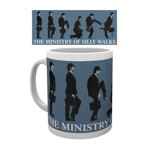 Monty Python The Ministry of Silly Walks Mug