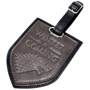 Game of Thrones Winter is Coming Luggage Tag