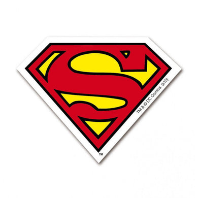 Superman Logo Die Cut Fridge Magnet