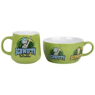 Rick & Morty Get Schwifty Breakfast Set