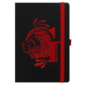 Harry Potter Gryffindor Foil Monogram A5 Notebook