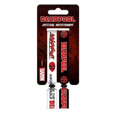 Deadpool Pack of 2 Festival Wristbands