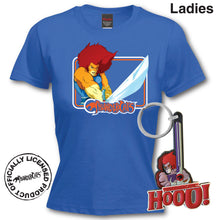 Load image into Gallery viewer, Thundercats Lion O T-Shirt & Keyring Gift Set