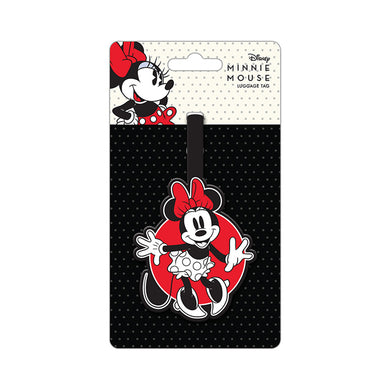 Minnie Mouse PVC Luggage Tag