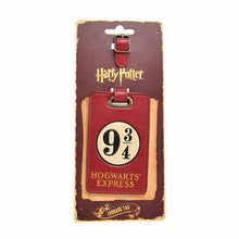 Load image into Gallery viewer, Harry Potter Platform 9 3/4 Luggage Tag