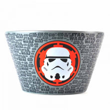 Load image into Gallery viewer, Grey Star Wars Stormtrooper Embossed Ceramic Bowl