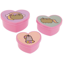 Load image into Gallery viewer, Set of 3 Pusheen Storage Pots