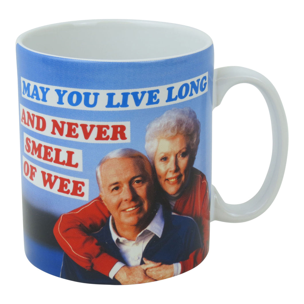 May You Live Long And Never Smell Of Wee Boxed Mug
