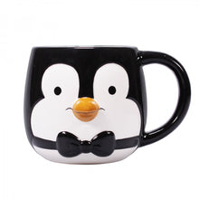Load image into Gallery viewer, Mary Poppins Penguin 3D Shaped Mug