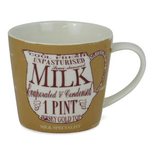The Milk Specialist Porcelain Mug