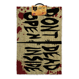 "The Walking Dead ""Don't Open Dead Inside"" Door Mat"