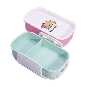 Pusheen 3 Compartment Lunch Box Set