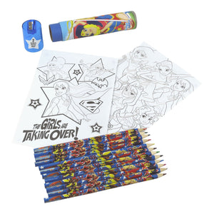 DC Super Hero Girls Colouring Pencil Set