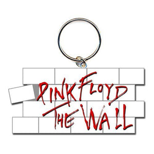 Pink Floyd The Wall Logo Metal Keyring