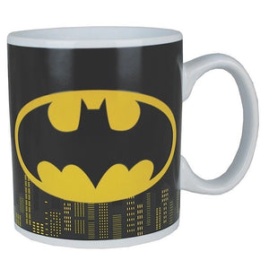 Batman Logo & Gotham Skyline Heat Change Mug