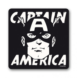 Captain America Face Coaster