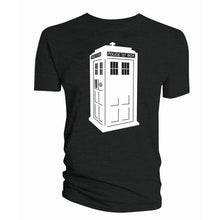 Load image into Gallery viewer, Doctor Who Glow in the Dark TARDIS T-shirt
