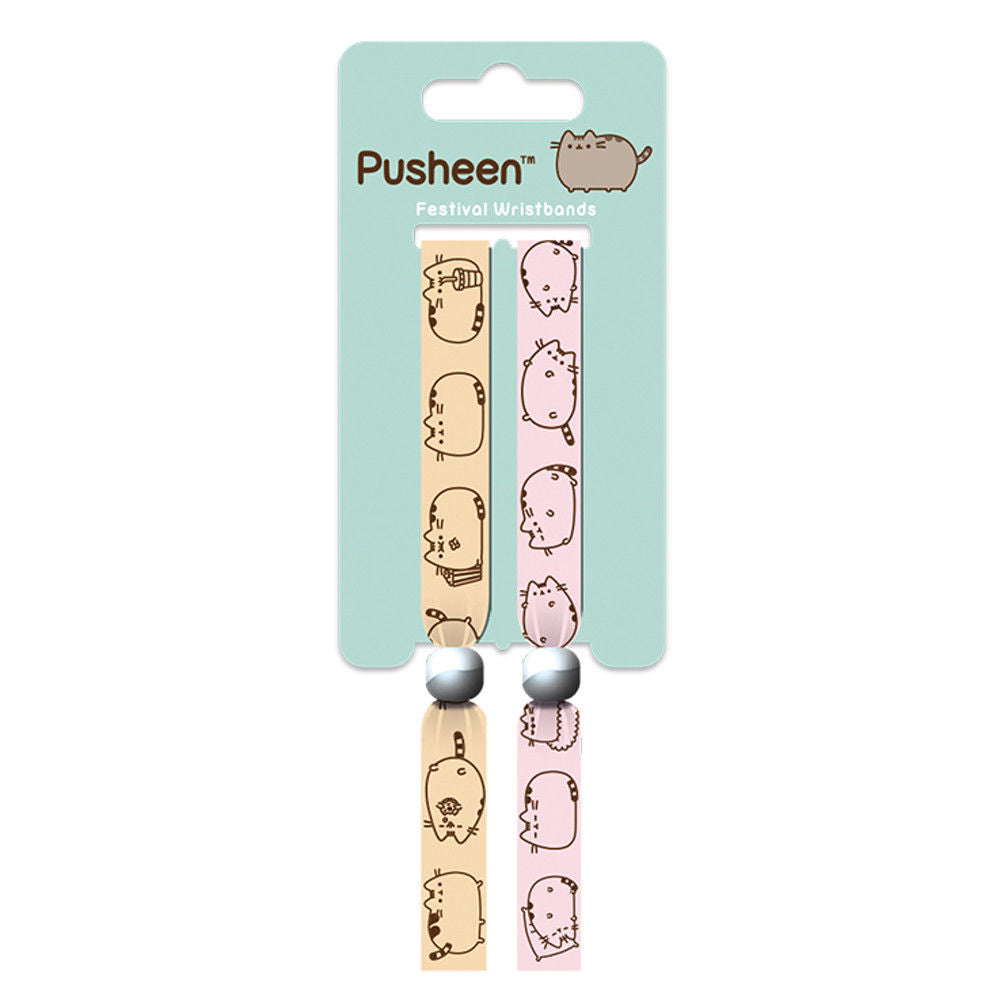 Pusheen Pack of 2 Festival Wrist Bands